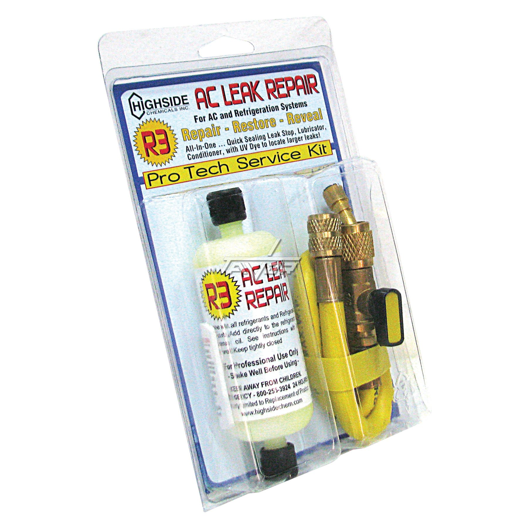 Leak Reapir Kit R3 Yellow 59 Ml For A/C And Refrigerator Systems - Supco Hs60002