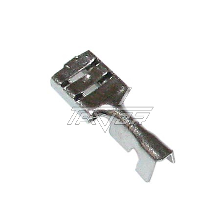 End Electric Terminal -Faston 6.3 Mm Female Up To 500°C