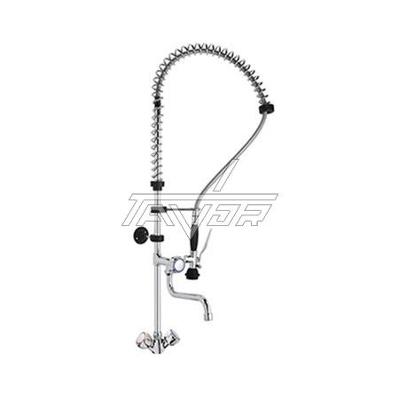 FAUCET -COMPLETE SET  FOR INDUSTRIAL KITCHEN -MONOLITH - ITALY