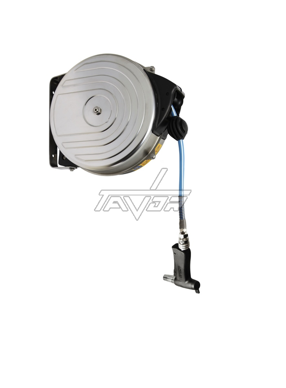 Wall Mounted Hose Reel - 15 Mt With A Sprinkler