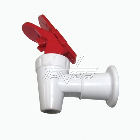 Faucet For Hot Water With Red Safety Hadle For Water Dispenser