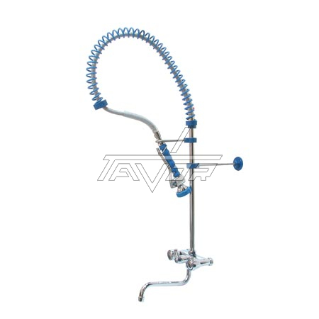 Low Rinse Tap With Mixer And Pouring Tap Height 870 Mm
