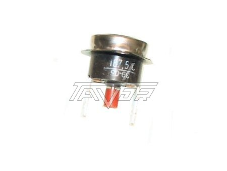 Small Thermostat 167 ° 2 Contacts For Crystal Dryer + Red Button