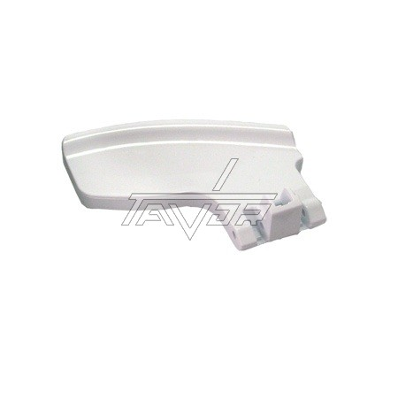 White Door Handle K63