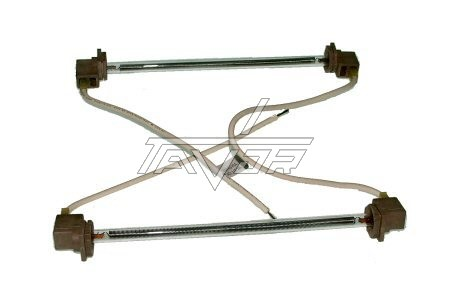 DEFROST GLASS HEATING ELEMENT 220V -600W - LENGHTH 200 MM -SUPCO-USA FOR REFRIGERATOR GE