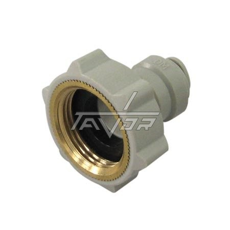 ADAPTER CONNECTOR 180°  STRAIGHT - 3/4