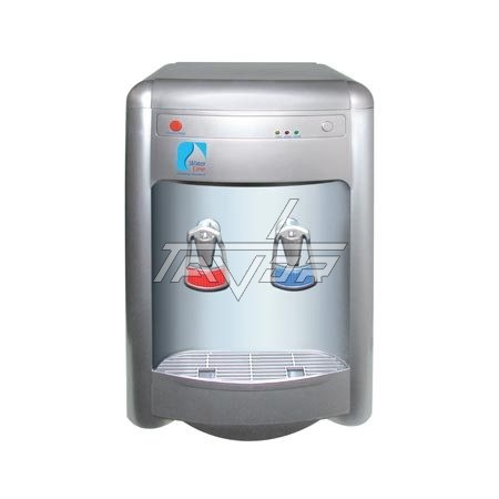Desktop Water Dispenser Type 16T-G Silver Color Body With Reheating Button