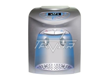 Desktop Water Dispenser Digital Type Lc-20T02Np Silver Color Body With Silver Front Color
