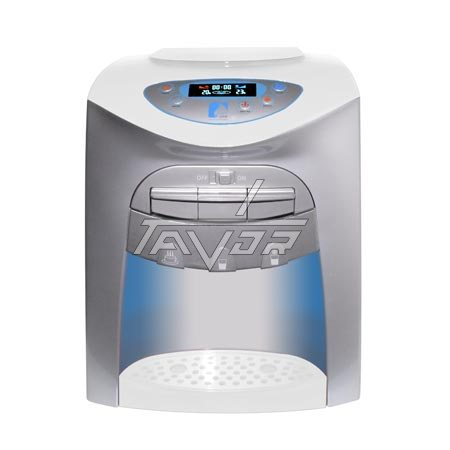 DESKTOP WATER DISPENSER DIGITAL WITH 3 TAPS MODEL LC20-T03NP WITH WHITE BODY AND WHITE FRONT PANEL
