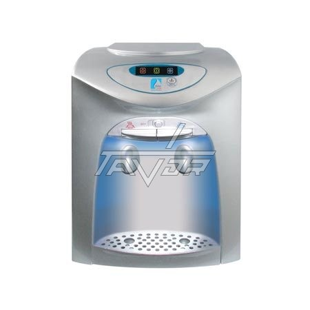 Desktop Water Dispenser Model Lc-20T02P Silver Color Body With Silver Front Color