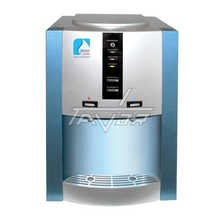 Desktop Water Dispenser Type 16T-G/D Siver Body And Blue Front Panel