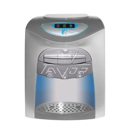 Desktop Water Dispenser With 3 Taps Type Lc-20T03Np Silver Color Body With Gray Front Color - Non Digital