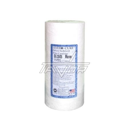 Water Filter Polypropilen 25 Micron Hydro-Cure Dg25/05 4.5