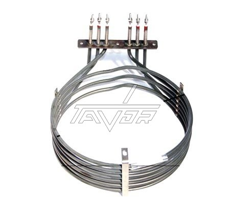 HEATING ELEMENT ROUND FOR INDUSTRIAL COOKER-OVEN  3 PASE -380V-3x2000W - DIAMETER 220MM FOR LAINOX