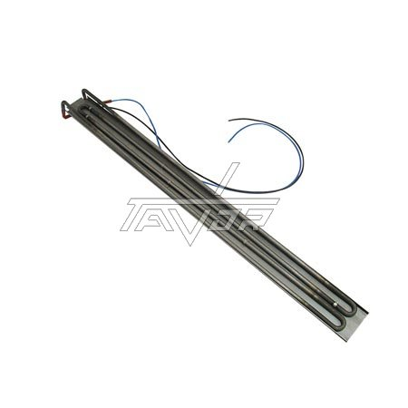Heating Element 2000W-230V - Lenght 80 Cm With Wires For An Industrial Frying Pan Turned Upside Down
