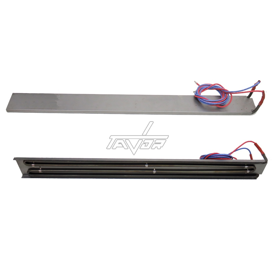 HEATING ELEMENT 230V -  2000W -LENGTH 70 CM WITH WIRES FOR AN INDUSTRIAL FRYING PAN TURNING UPSIDE DOWN