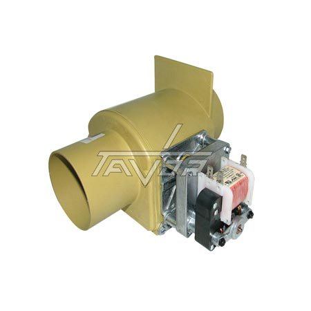 Electro-Valve Model Mds-O-3 For Drain Hose For Industrial Washing Machine Girbau With External Diameters Of 80/75/35 Mm