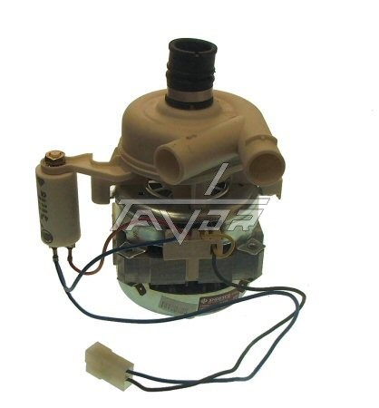 Motor For Ariston \ Indesit \ Candy Dishwasher Lvi949 + Condenser