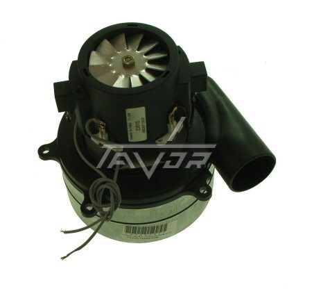 Vacuum Cleaner Motor 220V -1000W With 2 Wings And A Side Exit -Dry Type