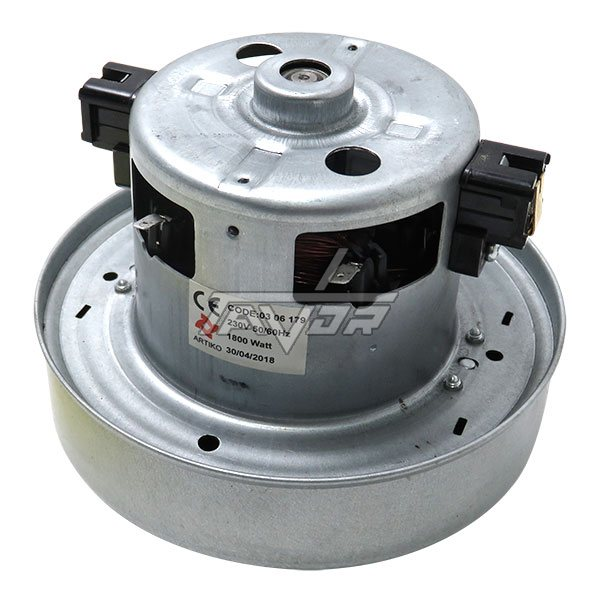 VACUUM CLEANER MOTOR 1400W DIAM. 120MM HIGHET 90MM -SHAFT 550 MM